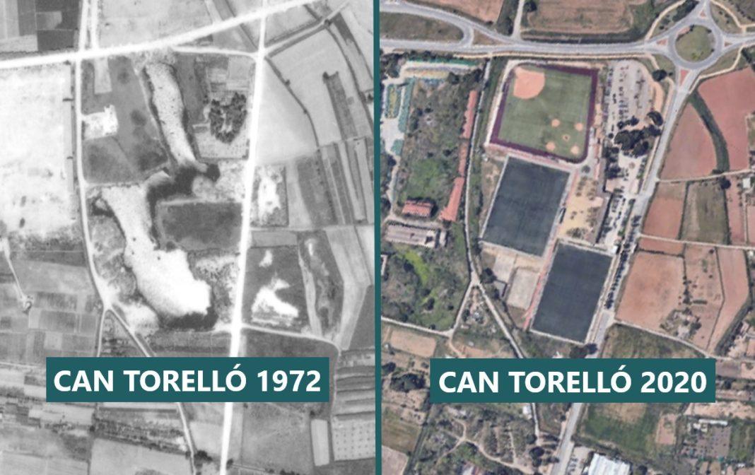 Can Torelló cuando contaba con lagos (1972) / Actualidad.