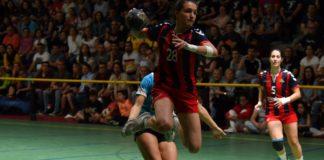 Jana Castañera. Foto: Club Handbol Gavà.