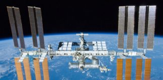 Estación Espacial Internacional. Foto: NASA.