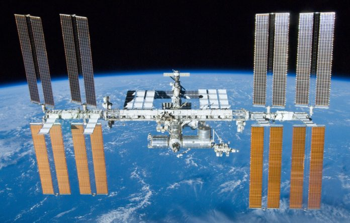 Estación Espacial Internacional. Foto: NASA.