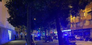 Incidente en la carretera Santa Creu de Calafell.