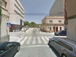 Calle de B. Carles Aribau con calle Concòrdia.