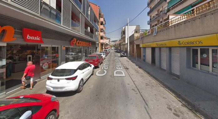 Calle Mare de Déu de Montserrat.