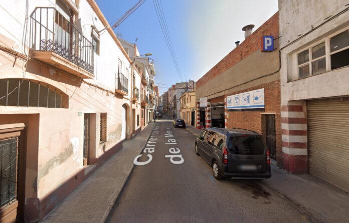 Calle Mare de Déu de la Mercè.
