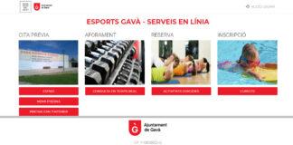 """Nuevo portal web """"Esports Gavà""""."""