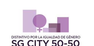 Distintivo por la igualdad de género.
