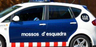 Vehículo de los Mossos d'Esquadra. Foto: Twitter @mossos.
