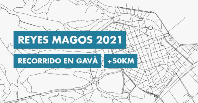 Recorrido y hora del paseo de los Reyes Magos por Gavà.