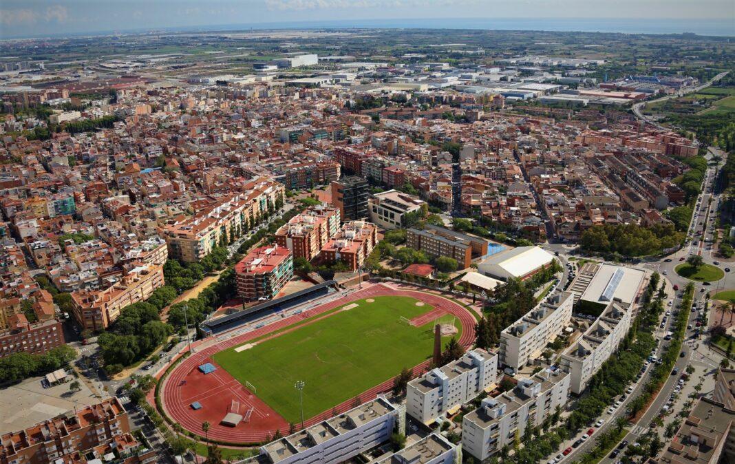 Vista aérea de Gavà. Foto: Ayuntamiento de Gavà.