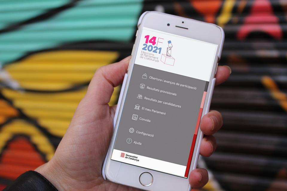 App Eleccions 14F, ya disponible.
