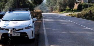 Radar móvil en La Sentiu. Fotos: Ayuntamiento de Gavà.