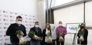 """Presentación de la campaña """"A casa, Calçot de Gavà"""". Foto: Ayuntamiento de Gavà."""