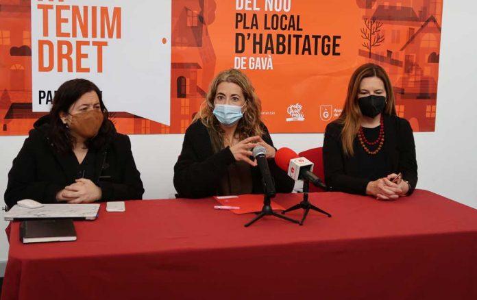 Presentación del Plan Local de Vivienda. Foto: Ayuntamiento de Gavà.