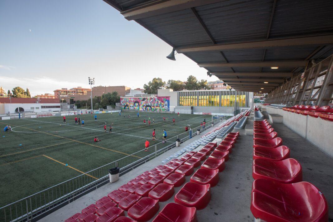 Campo de fútbol de Can Tintorer. Foto: Ayuntamiento de Gavà.