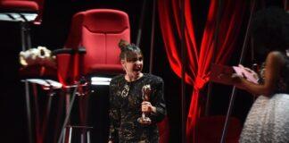 """Candela Peña, premio a la mejor protagonista femenina por """"La boda de Rosa"""". Foto: EFE."""