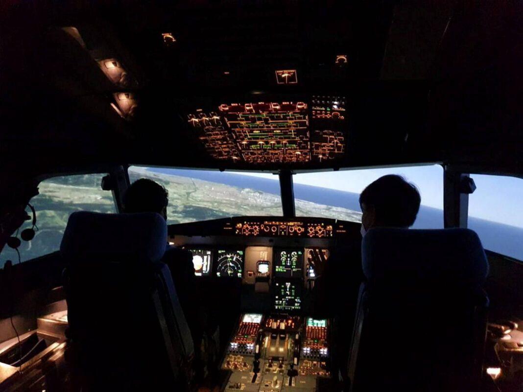 En los próximos tres años BAA Training invertirá hasta 68.500.000€ en el centro de entrenamiento de pilotos en Gavà, donde habrá 11 simuladores. Foto: Generalitat de Catalunya.
