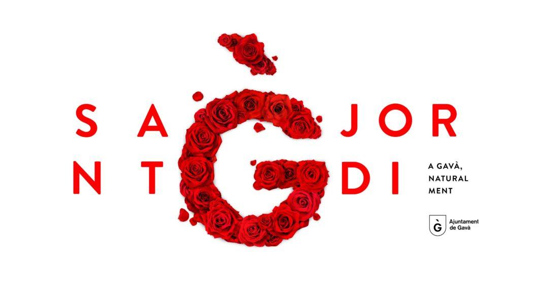 Imagen promocional del día de Sant Jordi. Foto: Ayuntamiento de Gavà.