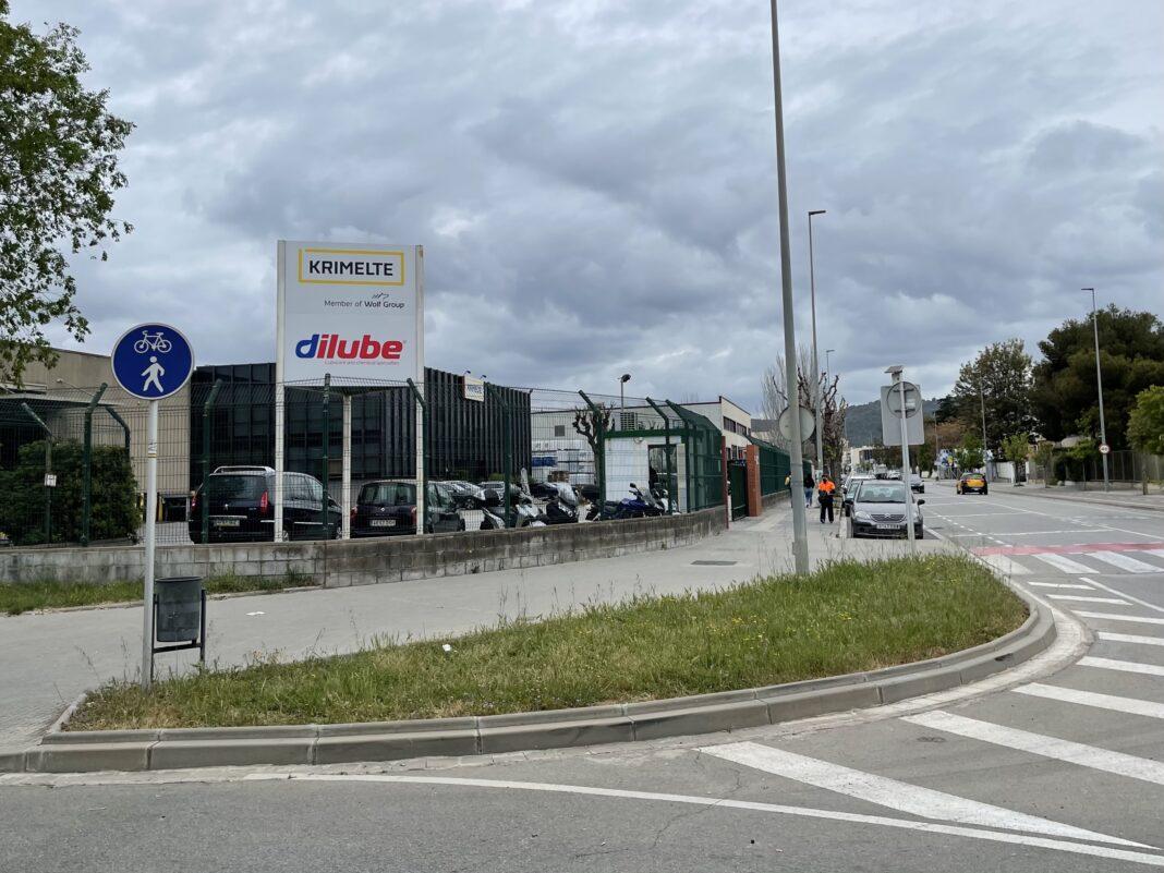 La empresa Dilube, S.A. está situada en la avenida Bertran i Güell, 78.