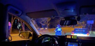 Interior de un vehículo de la Policía Municipal de Gavà. Foto: Twitter @gebadia.