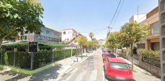 Calle Olocau.
