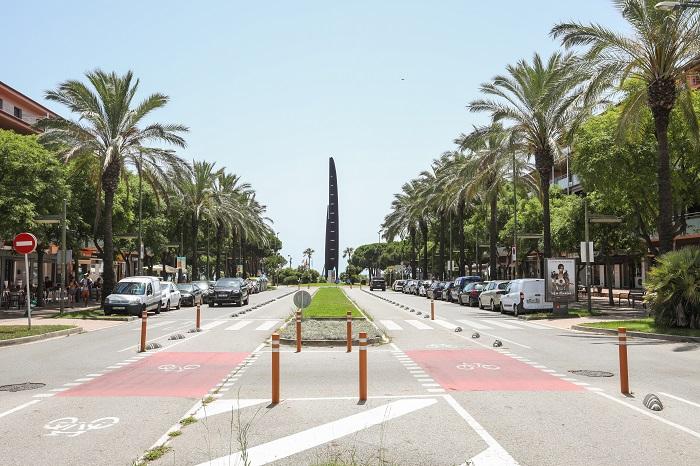 Avenida del Mar, Gavà Mar. Foto: Ayuntamiento de Gavà.