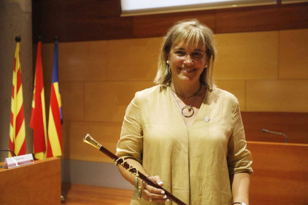 Gemma Badia, alcaldesa de Gavà. Foto: Ayuntamiento de Gavà.