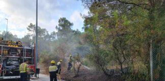 Incendio en la calle Clara Campoamor. Foto: Ayuntamiento de Gavà.