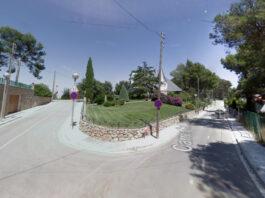 Calle Cal Rascló con Can Tarda.