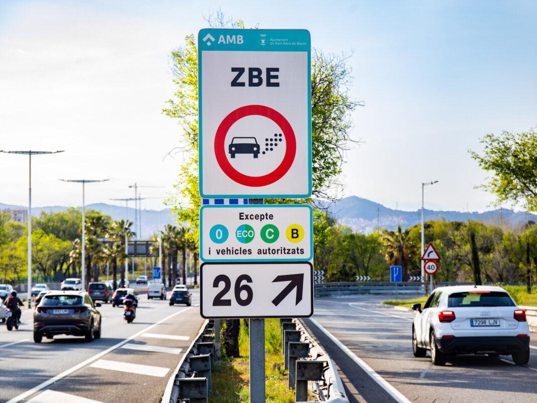 Zona de Bajas Emisiones. Foto: Área Metropolitana de Barcelona.