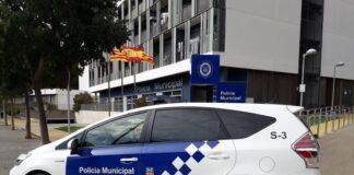 Vehículo de la Policía Municipal de Gavà.